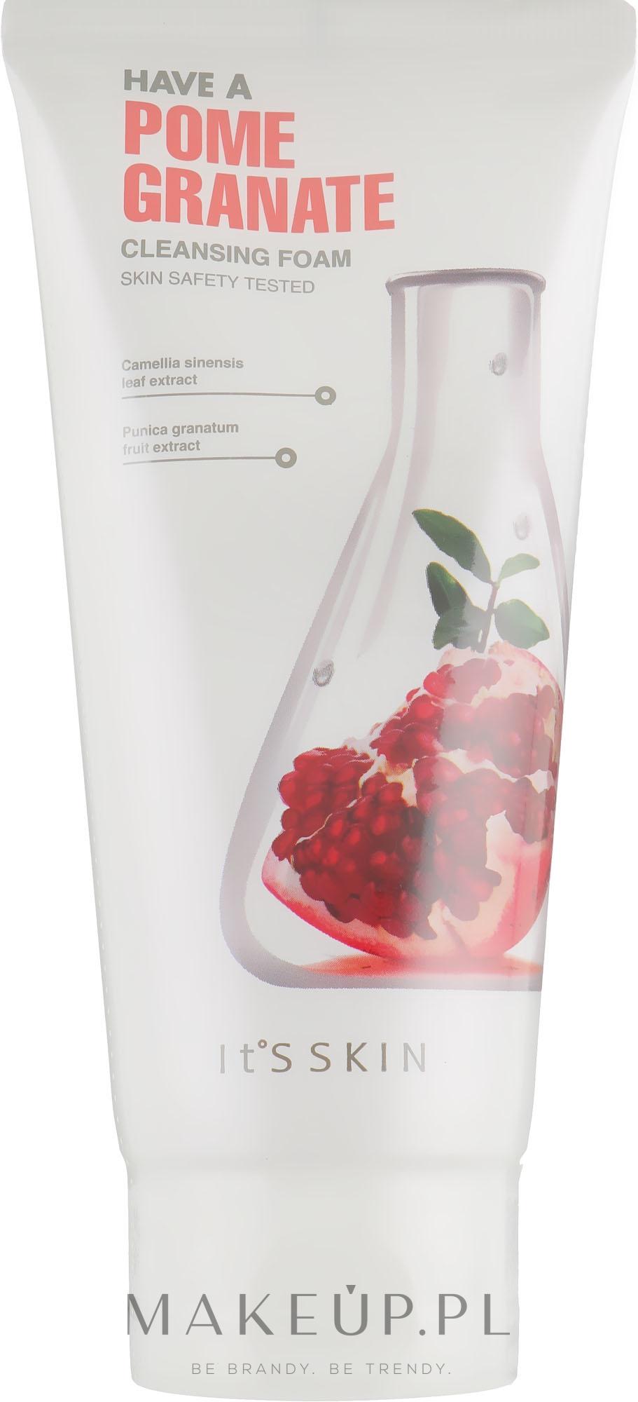 Oczyszczająca pianka z ekstraktem z granatu - It's Skin Have a Pomegranate Cleansing Foam — фото 150 ml