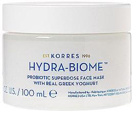 Kup Maska do twarzy z jogurtem greckim - Korres Greek Yoghurt Hydra-Biome Probiotic Superdose Face Mask