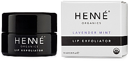 Kup Peeling do ust - Henne Organics Lavender Mint Lip Exfoliator