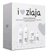 Kup Zestaw do pielęgnacji - Ziaja Kozie mleko (sh/soap 500 ml + b/milk 400 ml + cr 50 ml + h/cr 50 ml)