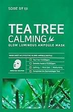 Kup Kojąca maska w płachcie do twarzy Drzewo herbaciane - Some By Mi Tea Tree Calming Glow Luminous Ampoule Mask