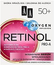 Kup Intensywne serum wygładzające do twarzy - AA Oxygen Infusion Retinol Pro-A 50+