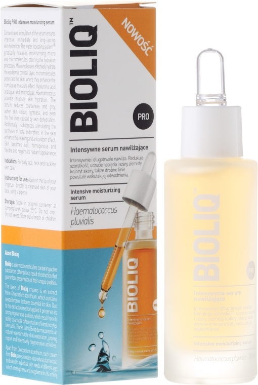 Intensywne serum nawilżające do twarzy - Bioliq Pro Intensive Moisturizing Serum