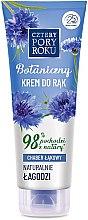 Kup Botaniczny łagodzący krem do rąk Chaber łąkowy - Cztery Pory Roku Botanical Soothing Hand Cream