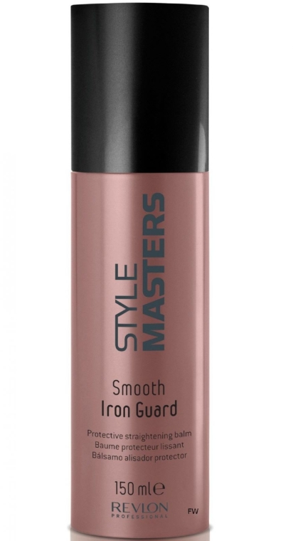 Balsam wygładzający włosy chroniący przed wysoką temperaturą - Revlon Professional Style Masters Smooth Iron Guard