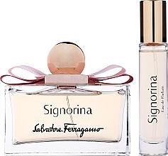 Kup Salvatore Ferragamo Signorina - Zestaw (edp/100ml + edp/10ml)