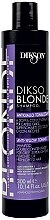 Kup Tonizujący szampon przeciw żółknięciom włosów - Dikson Dikso Blonde Anti-Yellow Toning Shampoo