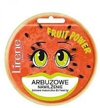 Kup Żelowa maseczka do twarzy Arbuzowe nawilżenie - Lirene Fruit Power