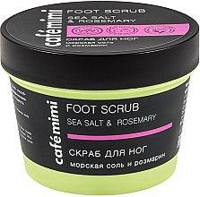 Kup Peeling do stóp Sól morska i rozmaryn - Café Mimi Foot Scrub Sea Salt & Rosemary