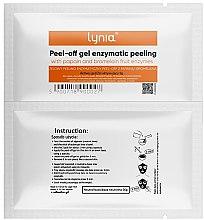 Kup Żelowy peeling enzymatyczny peel-off z papainą i bromelainą - Lynia