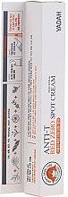 Kup Łagodzący krem punktowy do twarzy przeciw niedoskonałościom - Yadah Anti-T Red Zero Spot Cream