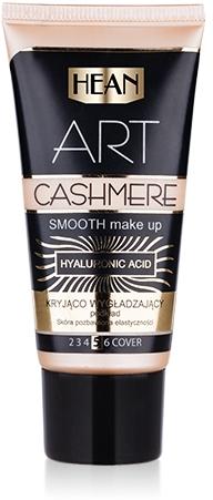 Kryjący podkład matujący do skóry z niedoskonałościami - Hean Make Up Art Cashmere — фото N1