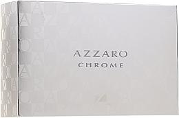 Kup Azzaro Chrome - Zestaw (edt 100 ml + aft/shave 30 ml + shm 50 ml + bag)