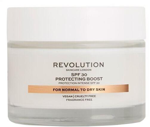 Krem nawilżający do twarzy do cery suchej i normalnej SPF 30 - Revolution Skincare Protecting Boost Face Cream — фото N1