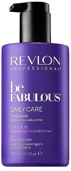 Odżywka do włosów cienkich - Revlon Professional Be Fabulous Daily Care Fine Hair Lightweight Conditioner — фото N2