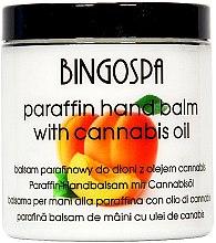 Kup Balsam parafinowy z olejem cannabis i morelą do dłoni - BingoSpa Paraffin Balm For Hands With Cannabis Oil And Apricot