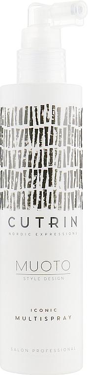 Termoochronny spray do włosów - Cutrin Muoto Iconic Multispray — фото N3