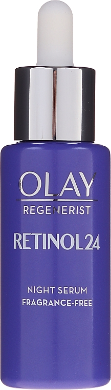 Bezzapachowe serum do twarzy na noc - Olay Regenerist Retinol24 Night Serum — фото N3