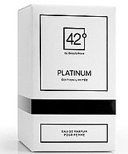 Kup 42° by Beauty More Platinum Edition Limitee Pour Femme - Woda perfumowana