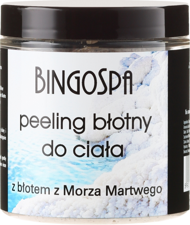 Peeling błotny do ciała z błotem z Morza Martwego - BingoSpa Mud Peeling For Body With Dead Sea Mud