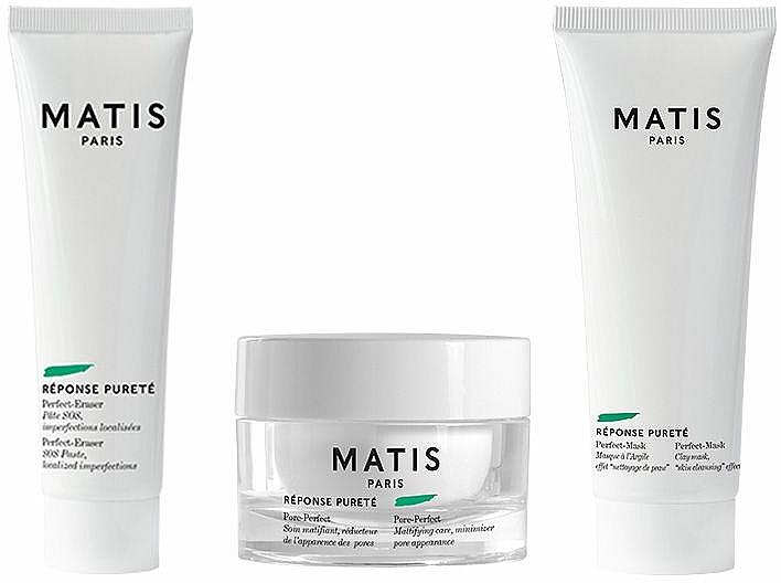 Zestaw - Matis Reponse Purete (f/cr/50ml + f/mask/50ml + f/balm/20ml) — фото N2