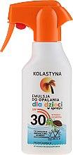 Kup Emulsja do opalania w sprayu dla dzieci SPF 30 - Kolastyna Suncare for Kids Spray SPF 30