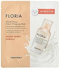 Kup Maska energetyczna do twarzy - Tony Moly Floria Nutra Energy Cream Wrapping Mask