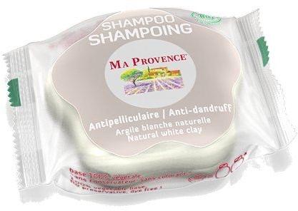 Organiczny szampon przeciwłupieżowy w kostce do włosów - Ma Provence Shampoo — фото N1