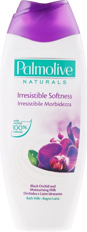 Mleczko do kąpieli Czarna orchidea - Palmolive Naturals Irrestible Softness Bath Milk — фото N1