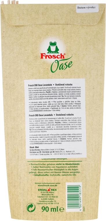 Dyfuzor zapachowy z naturalnym olejkiem Lawenda - Frosch Oase — фото N3