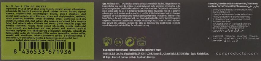 Nawilżająca farba bez amoniaku do włosów - I.C.O.N. Ecotech Color Natural Hair Color — фото N3