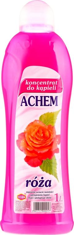 Koncentrat do kąpieli Róża - Achem Concentrated Bubble Bath Rose