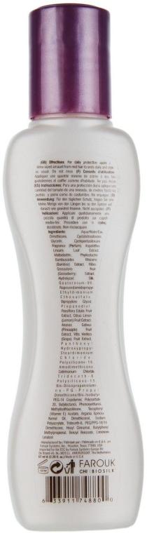 Ochronna odżywka bez spłukiwania do włosów farbowanych - BioSilk Color Therapy Lock & Protect Leave-In Treatment — фото N3