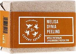 Kup Mydło peelingujące Melisa i dynia - Cztery Szpaki
