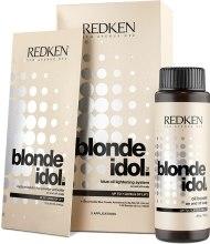 Kup Zestaw rozjaśniający do blond włosów - Redken Blonde Idol Blue Oil Lightening Systems