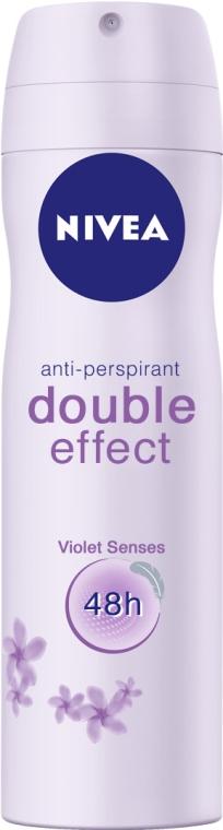 Antyperspirant w sprayu - Nivea Double Effect Anti-Perspirant Spray