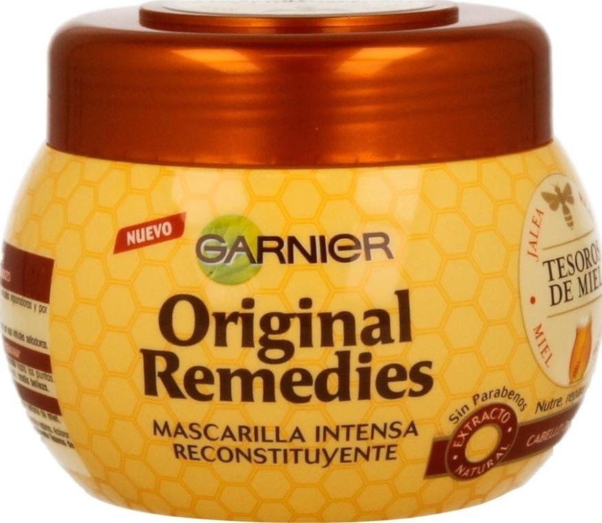 Intensywnie odżywcza maska z miodem do włosów - Garnier Original Remedies Intense Nutrition Mask