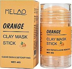 Kup Glinkowa maska w sztyfcie do twarzy Pomarańcza - Melao Orange Clay Mask Stick