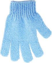 Kup Rękawiczka do kąpieli 30178, błękitna - Top Choice