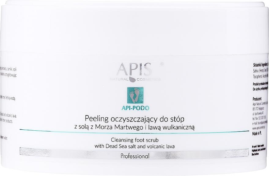 Oczyszczający peeling do stóp - Apis Professional Api-Podo  — фото N1