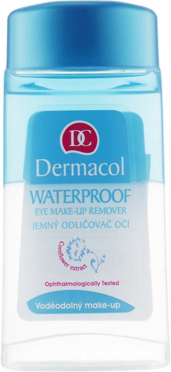 Płyn do usuwania wodoodpornego makijażu oczu - Dermacol Waterproof Eye Make-Up Remover