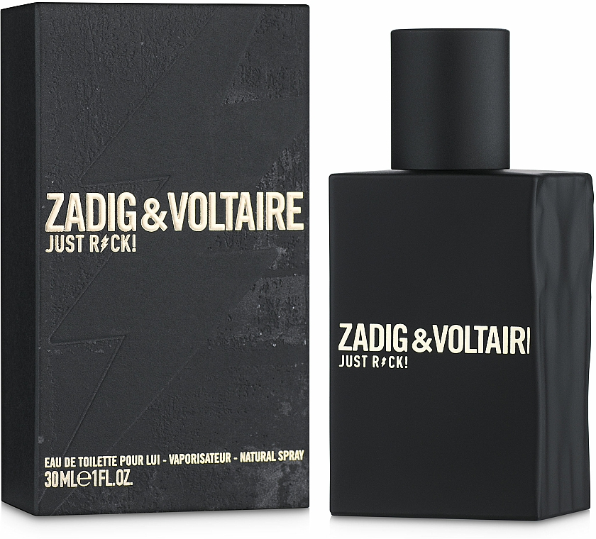 Zadig & Voltaire Just Rock! For Him - Woda toaletowa — фото N2