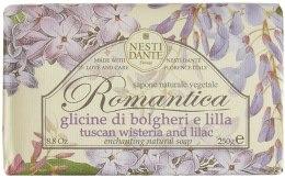 Kup Naturalne mydło w kostce Toskańska wisteria i lilak - Nesti Dante Romantica