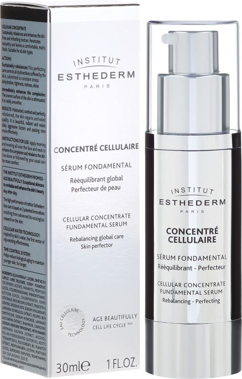 Fundamentalne serum komórkowe do twarzy - Institut Esthederm Cellular Concentrate Fundamental Serum — фото N1