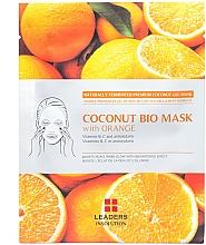 Kup Rozjaśniająca maska z galaretką kokosową i ekstraktem z pomarańczy - Leader Coconut Bio Mask With Orange