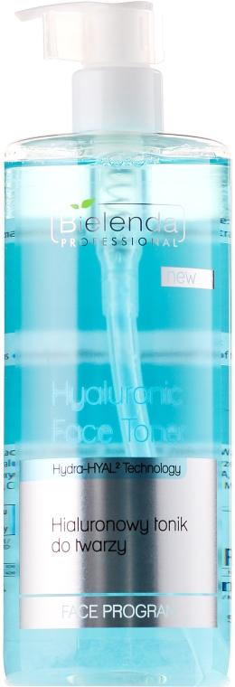 Hialuronowy tonik do twarzy - Bielenda Professional Hydra-Hyal Injection Hyaluronic Face Toner — фото N1