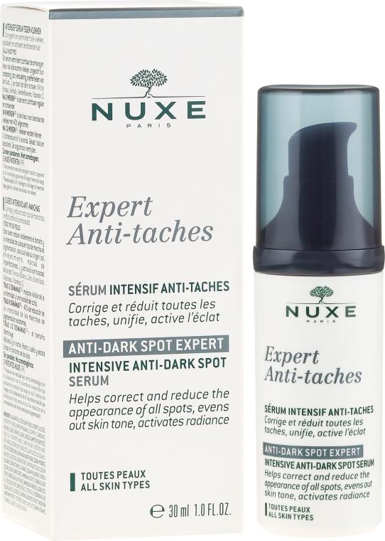Intensywne serum przeciw ciemnych plamom pigmentacyjnym - Nuxe Expert Anti-Taches Anti-Dark Spot Intensive Serum