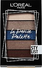 Kup Paletka cieni do powiek - L'Oreal Paris La Petite Palette Stylist Eyeshadow
