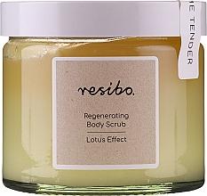 Kup Rewitalizujący peeling do ciała - Resibo Regenerating Body Scrub Lotus Effect