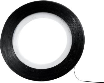 Dekoracyjna taśma do paznokci, czarna - Peggy Sage Decorative Nail Stickers Noir — фото N1